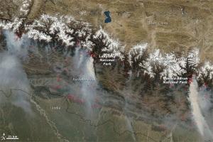 Nepal Fire